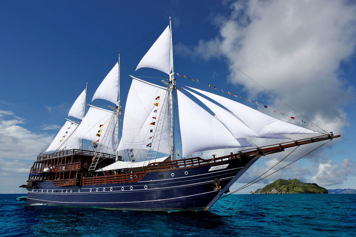 Amira Liveaboard located in Indonesia