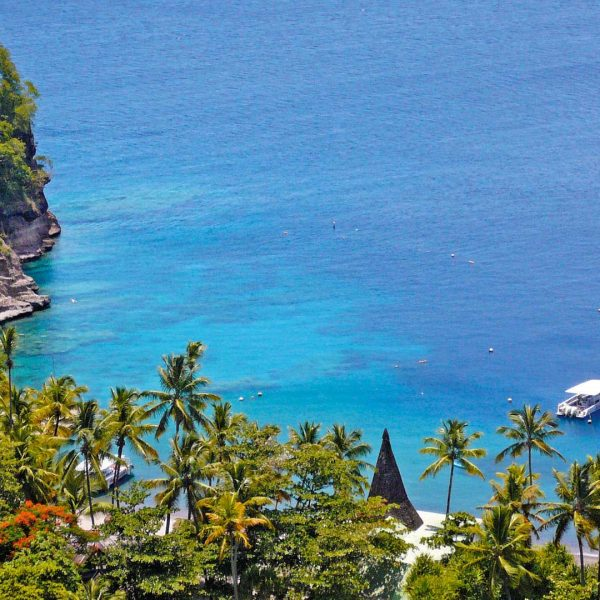 View from Anse Chastanet