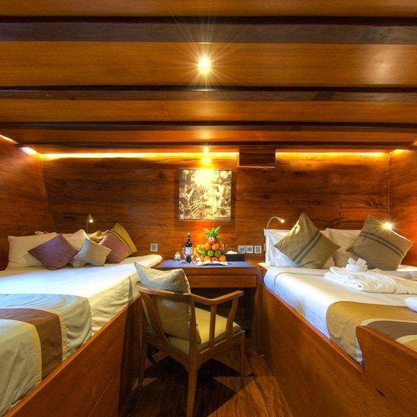 Damai II twin cabin