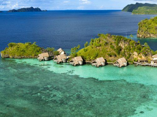 Misool Eco Resort Raja Ampat Panoramic View