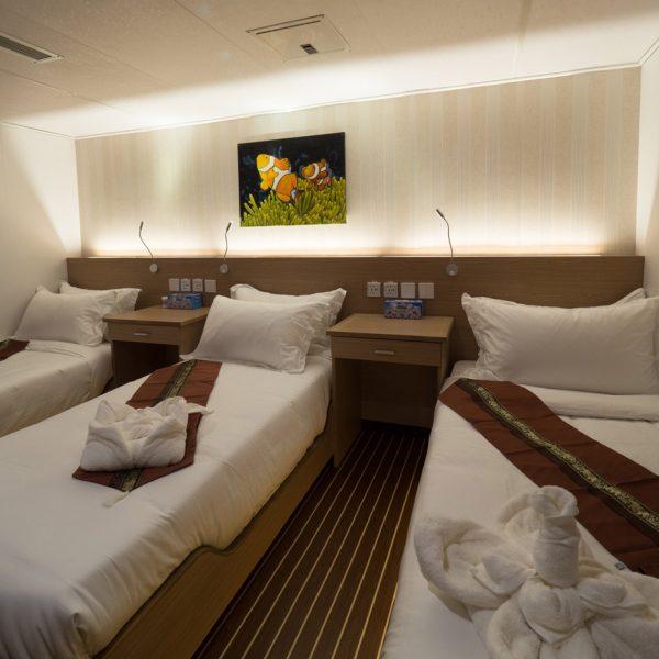 White Manta Explorer Main Deck Cabin10