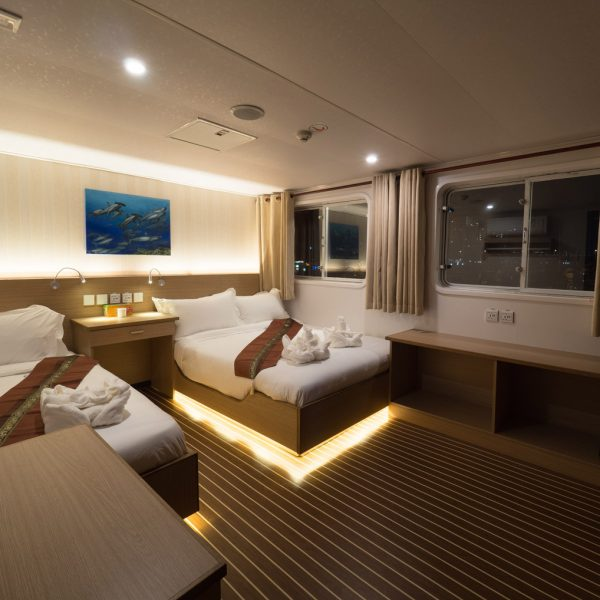 White Manta Explorer Upper Deck Cabin