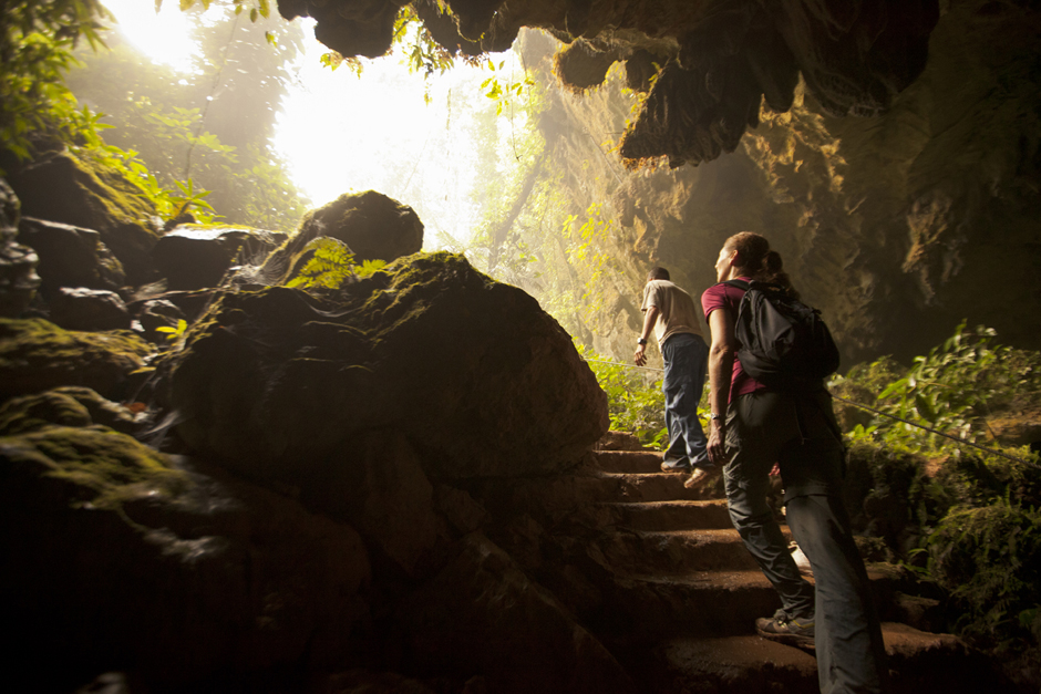 Exploring caves is on the best things to do in Belize!