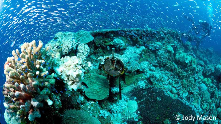 Telegraph on Bow of Ship image courtesy of Jody Mason