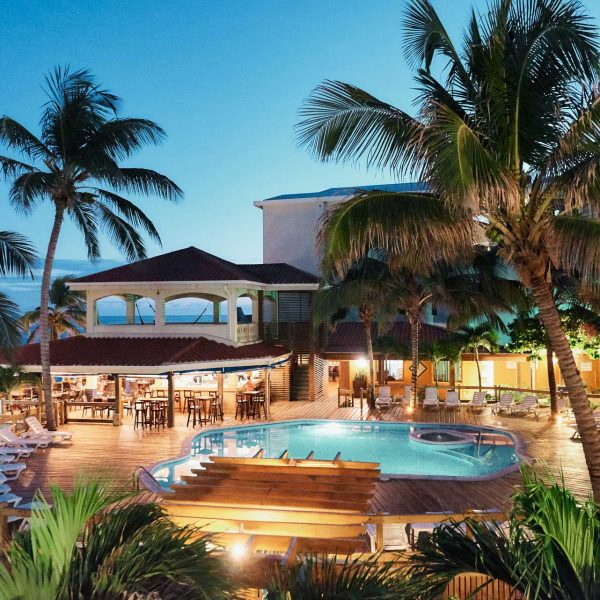 Sunbreeze-Hotel-at-dusk-Pool-Bar-&-Restaurant