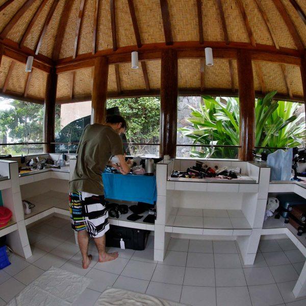 alam Batu dive resort Bali Camera room