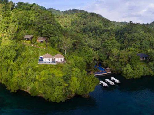 Lembeh Resort Indonesia Panorama