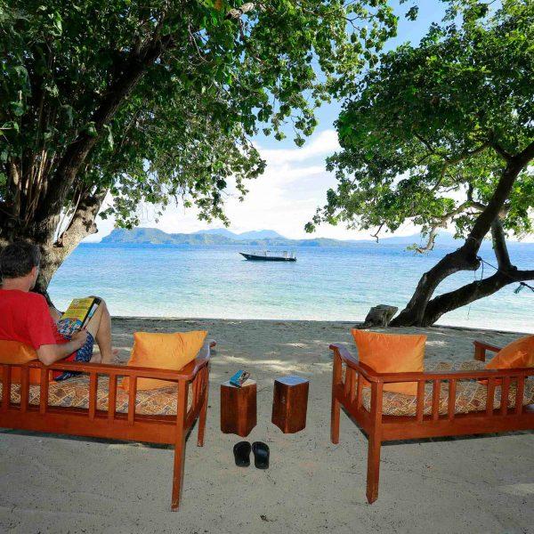 Murex Resort Bangka view