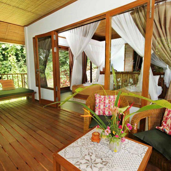 Murex Resort Bangka Ocean view cottage