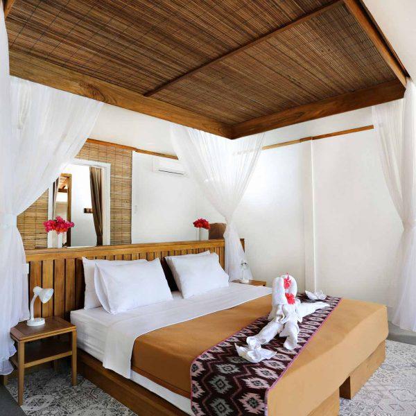 Murex Resort Bangka Deluxe Cottage inside