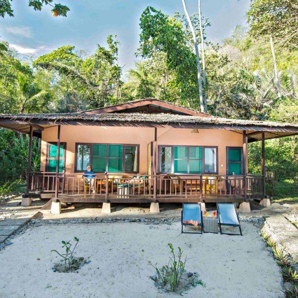 Murex Resort Bangka bungalow