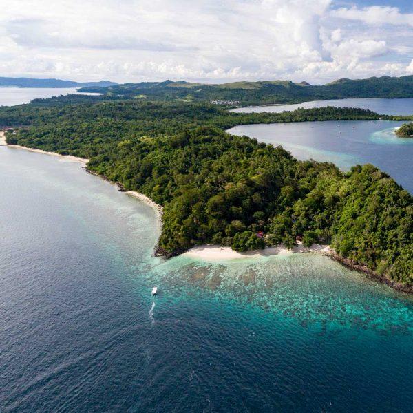 Murex Resort Bangka Island view