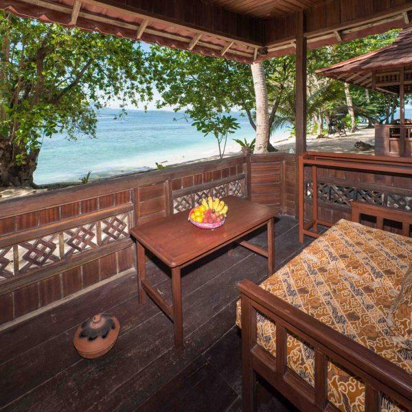 Murex Resort Bangka Porch