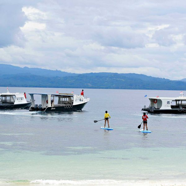 Murex Resort Bangka SUP and boats