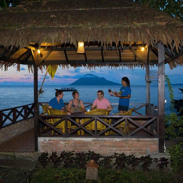 Murex Resort Manado afternoon drink