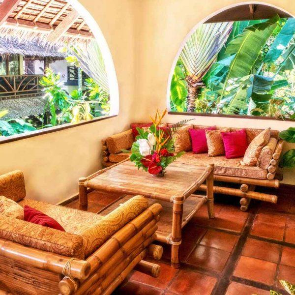 Atlantis Resort Dumaguete Room 42 patio